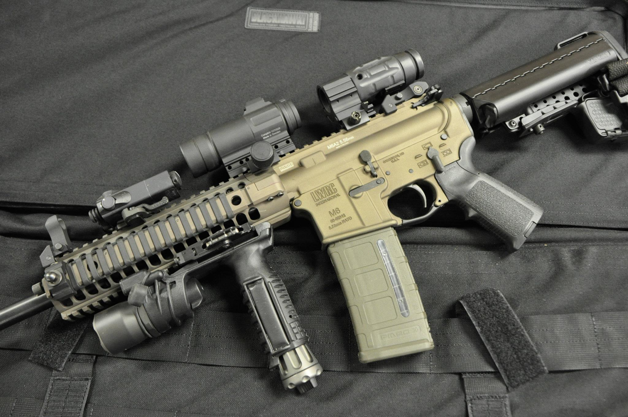 Take Aim Custom LWRC