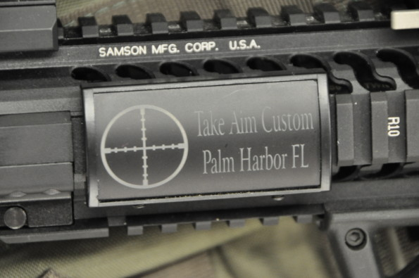 "Take Aim Custom ""Kitchen Sink"" AR15 Carbine"