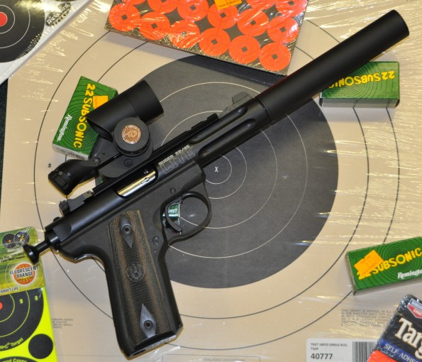 Take Aim Custom Ruger Mk3